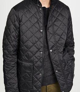 Barbour Black Diggle Quilt Jacket